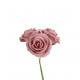 Rose Viva Foam, 3 pieces in a bunch, D9cm, total 2